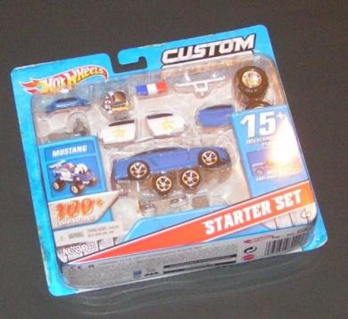 Hot Wheels Custom Motors 2010 Mustang