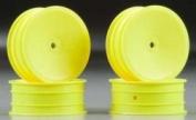 Front Mono,12mm Hex Wheel, Yellow