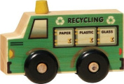 Maple Landmark 71014 MONTGOMERY SCHOOLHOUSE- SCOOTS- RECYCLING TRUCK