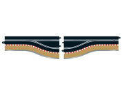 Scalextric Digital C7014 Pit Lane (left hand) 1:32 Scale Accessory