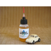 Liquid Bearings, 100%-synthetic oil for all HO scale slot cars, makes cars faster!!