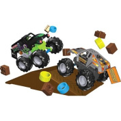 K'nex Monster Jam Grave Digger vs. Maximum Destruction Building Set