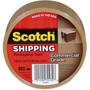 3M 3750T Commercial Grade Packaging Tape 1.88 x 54.6 yards 3 Core Tan