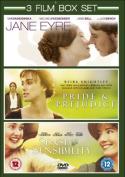 Jane Eyre/Pride and Prejudice/Sense and Sensibility [Region 2]