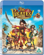 The Pirates! In an Adventure With Scientists [Region B] [Blu-ray]