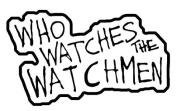 NECA Watchmen Movie Who Watches the Watchmen Patch