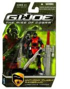 "G.I. Joe The Rise of Cobra Action Figure - Anthony ""Flash"" GambelloLaser Rifle Trooper"