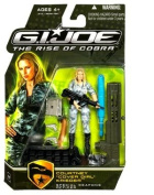 """G.I. Joe The Rise of Cobra Action Figure - Courtney """"Cover Girl"""" Krieger Special Weapons Officer"""