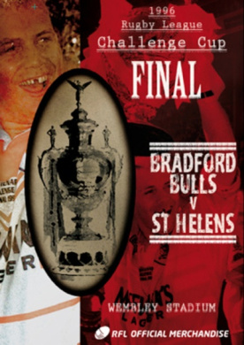 Rugby League Challenge Cup Final: 1996 - Bradford Bulls V St...