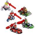 Super Mario Bros. Mario Kart Wii Keychain - Princess Peach Bike