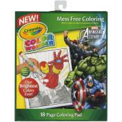 Crayola Marvel Super Hero Squad Colour Wonder 18-Page Colouring Pad