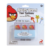 Angry Birds 6-Pack Tiny Toppers Collectible Pencil Toppers - Red Birds