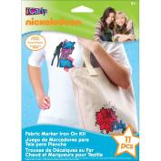 Nickelodeon Fabric Marker Iron On Kit - iCarly