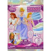 Disney Princess Sparkling Magnetic Paper Dolls