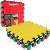 Multi-Colour Foam Mat Pack - 8-Piece