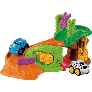 Fisher-Price Lil' Zoomers Safari Sounds Jungle Playset