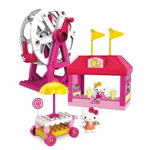 Mega Bloks Hello Kitty Spring Fair Building Toy (10825) Exclusive ...