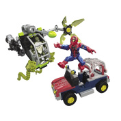 Mega Bloks Spiderman Buildable Bridge Showdown
