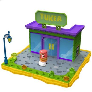 Moshi Monsters - Bobble Bots - Yukea Store Playset - Innovation First
