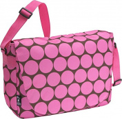 Wildkin Laptop Messenger Bag - Pink Big Dots