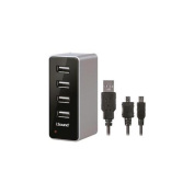 4 USB Wall Charger Pro for Apple, Smartphones and USB Powered Devices