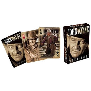 John Wayne Spielkarten [German Version]