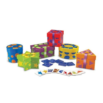 Learning Resources Shape Sorting Presents