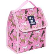 Wildkin 55020 Horses in Pink Munch n Lunch Bag - Jamie Kalvestran