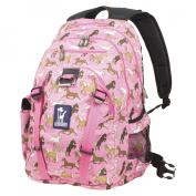 Wildkin 53020 Horses in Pink Serious Backpack - Jamie Kalvestran