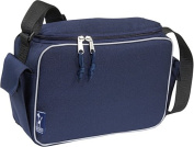Wildkin 46505 Solid Color Collection - Navy Blue Lunch Cooler