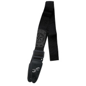 First Act Guitar Strap - Black with Grey Star