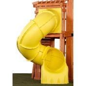 1.5m Turbo Tube Slide Yellow