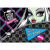 Amscan Monster High School Invitations Party Accessory