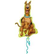 ShindigZ 23 x 38 inch Mylar Balloon - Here Comes Scooby-Doo