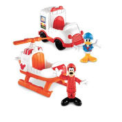 Fisher-Price Mickey Mouse Clubhouse Vehicle - Goofy and Donald Rescue Vehicles