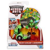 Playskool Transformers Rescue Bots - Walker Cleveland & Jackhammer