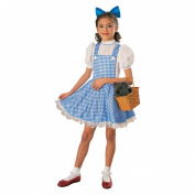 Rubie's Costume Co Wizard Of Oz Child's Deluxe Dorothy Costume