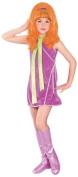 Rubie's Costume Co 17807 Scooby-Doo Daphne Child Costume Size Medium- Girls 8-10