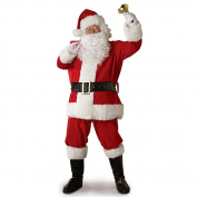 Rubies Costume Co 23331 X Large Adult Regal Plush Santa Suit