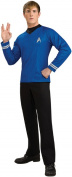 Star Trek Movie Blue Shirt Deluxe Halloween Costume - Adult Size Medium