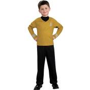 Star Trek Movie Gold Shirt Halloween Costume - Child Size Small