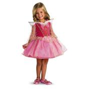 Disney Princess Aurora Ballerina Halloween Costume - Toddler Size Large 4-6x