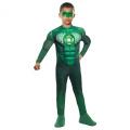 Green Lantern - Hal Jordan Deluxe Light-Up Muscle Child Costume