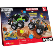 K'NEX Grave Digger vs. Maximum Destruction Building Set