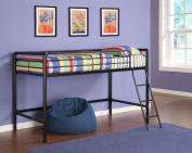 Dorel Home Products Junior Loft Bunk - Black