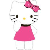 "Hello Kitty ""Furry Kitty"" Decorative Pillow"