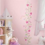 RoomMates RMK1084GC Fairy Princess Peel & Stick Growth Chart