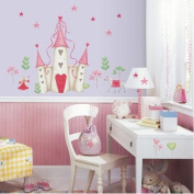 RoomMates Princess Castle Peel & Stick Wall Decal
