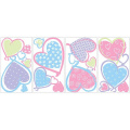 RoomMates Hearts Peel & Stick Wall Decals