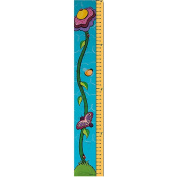 Trademark Games 1.8m Growth Chart - Flower Sprout